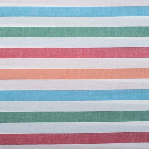 205 Rayas gruesas azul, verde, roja y naranja
